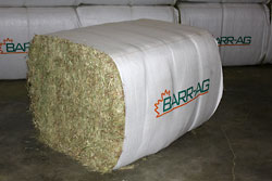 Big bale in sleeve 420kg/4 cut